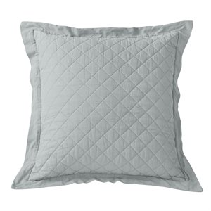 Linen Diamond Quilted Euro Sham (FB6100ES) - 6 Colors Available